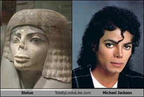 Statue Totally Looks Like Michael Jackson