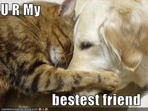 U R My   bestest friend