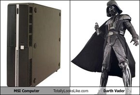 MSI Computer Totally Looks Like Darth Vader