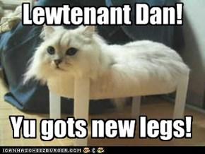 Lewtenant Dan!
