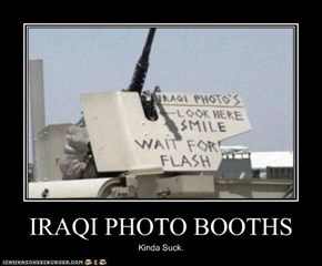 IRAQI PHOTO BOOTHS