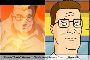 "Claude ""Torch"" Weaver Totally Looks Like Hank Hill"