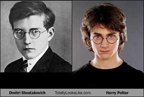 Dmitri Shostakovich Totally Looks Like Harry Potter