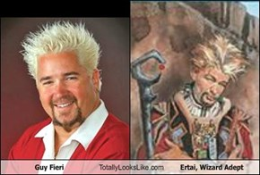 Guy Fieri Totally Looks Like Ertai, Wizard Adept