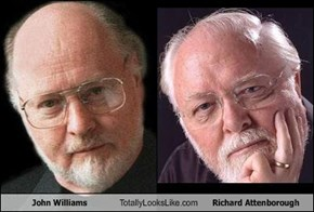 John Williams Totally Looks Like Richard Attenborough