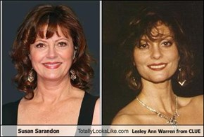 Susan Sarandon Totally Looks Like Lesley Ann Warren from CLUE