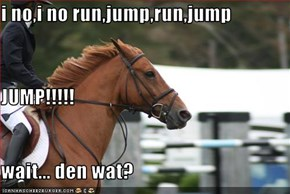 i no,i no run,jump,run,jump JUMP!!!!! wait... den wat?