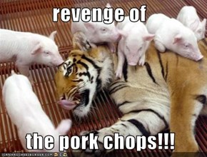 revenge of   the pork chops!!!