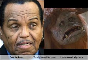Joe Jackson Totally Looks Like Ludo from Labyrinth