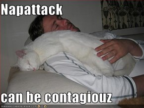 Napattack   can be contagiouz