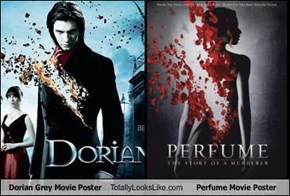 Dorian Grey Movie Poster Totally Looks Like Perfume Movie Poster