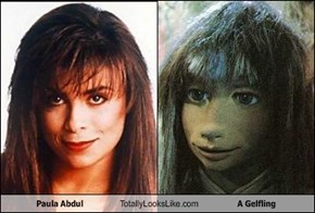 Paula Abdul Totally Looks Like A Gelfling