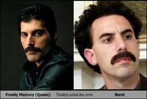 Freddy Mercury (Queen) Totally Looks Like Borat