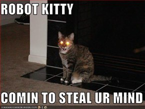 ROBOT KITTY  COMIN TO STEAL UR MIND