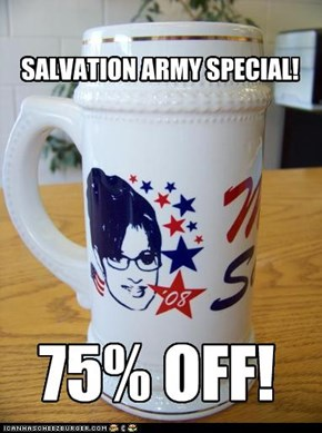 SALVATION ARMY SPECIAL!