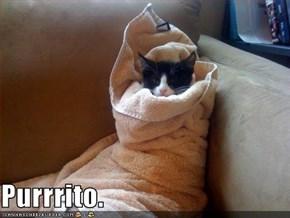 Purrrito.