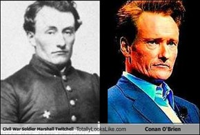 Civil War Soldier Marshall Twitchell Totally Looks Like Conan O'Brien