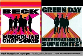 Beck Mongolian Chop Sqard Totally Looks Like Green Day International Superhits!