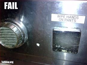 Waffle House Hand Dryer Fail