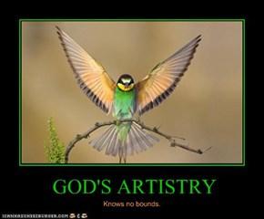 GOD'S ARTISTRY