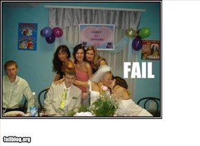 Wedding Photo Fail
