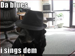 Da blues  i sings dem