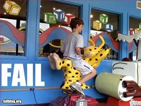 Kiddie Ride Fail