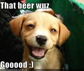 That beer wuz  Gooood :)
