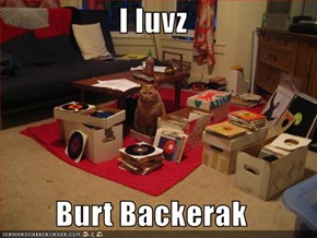 I luvz   Burt Backerak