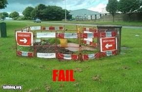 Pedestrian fail