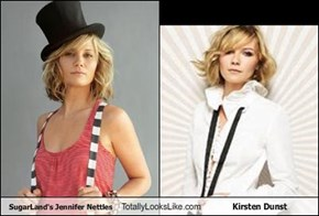 SugarLand's Jennifer Nettles Totally Looks Like Kirsten Dunst