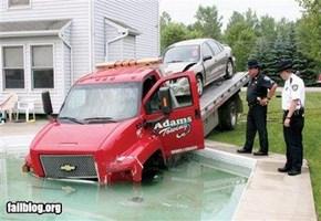 Tow truck FAIL