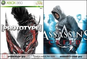 protototype guy Totally Looks Like assassin's creed guy