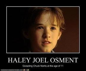 HALEY JOEL OSMENT