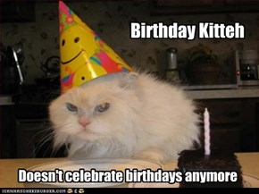 Birthday Kitteh