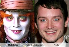 Mad Hatter Totally Looks Like Frodo