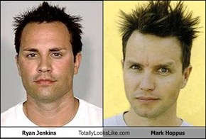 Ryan Jenkins Totally Looks Like Mark Hoppus