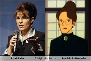 Sarah Palin Totally Looks Like Fraulein Rottenmeier