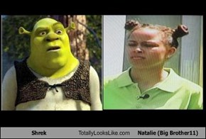 Shrek Totally Looks Like Natalie (Big Brother11)