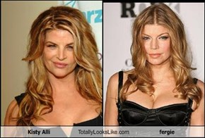 Kisty Alli Totally Looks Like fergie