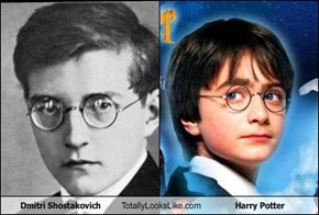Dmitri Shostakovich Totally Looks Like Harry Potter