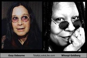 Ozzy Osbourne Totally Looks Like Whoopi Goldberg