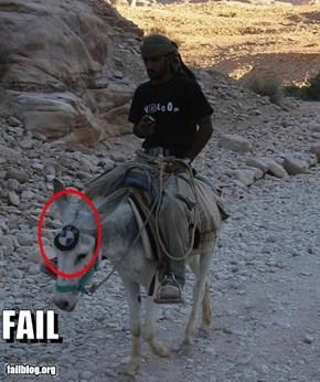 BMW Fail