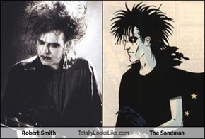 Robert Smith Totally Looks Like The Sandman