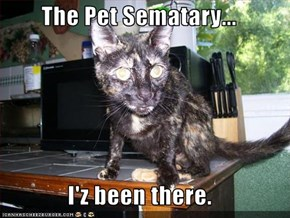 The Pet Sematary...  I'z been there.