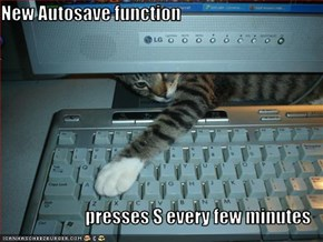 New Autosave function  presses S every few minutes
