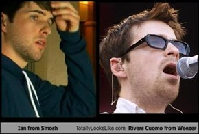 Ian from Smosh Totally Looks Like Rivers Cuomo from Weezer