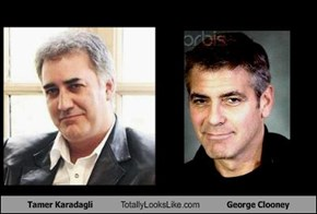 Tamer Karadagli Totally Looks Like George Clooney