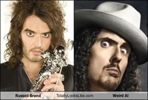 Russell Brand Totally Looks Like Weird Al