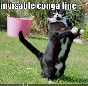 invisable conga line